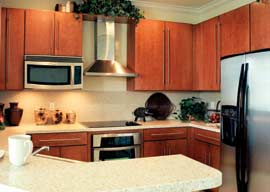 Select your gourmet kitchen features from our designer packages