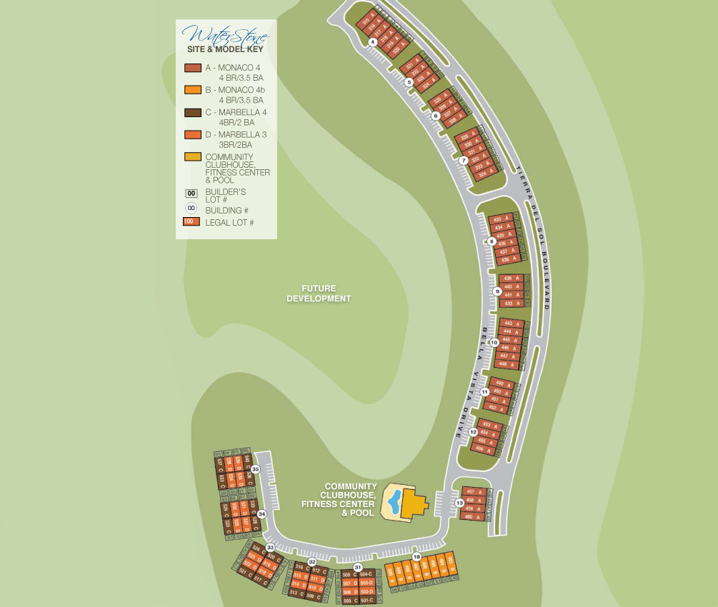 site plan waterstone